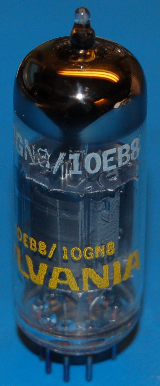 10EB8 High-Mu Triode / Sharp Cutoff Pentode Tube