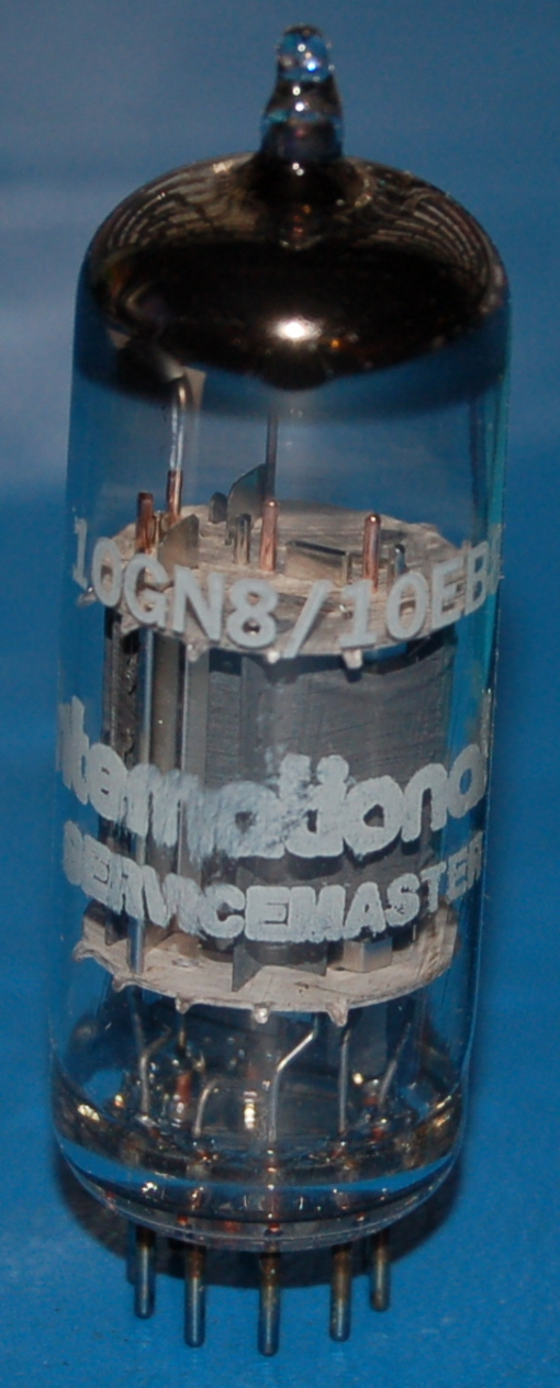10GN8 High-Mu Triode / Sharp Cutoff Pentode Tube