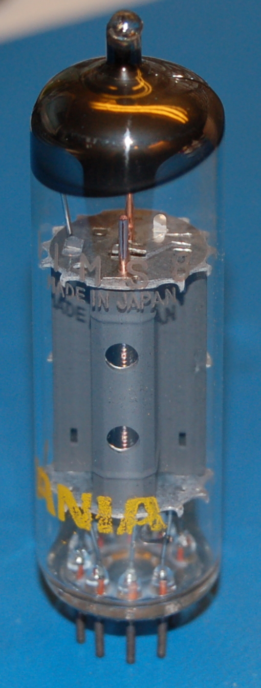 11MS8 High-Mu Triode / Beam Power Tube (Sylvania)