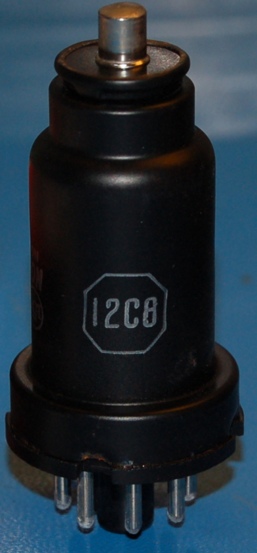 12C8 Twin Diode - Semiremote-Cutoff Pentode Tube