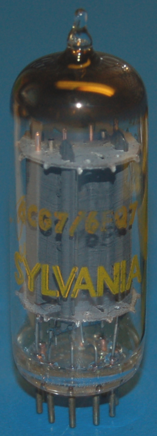 6CG7 Medium-Mu Twin Triode Tube