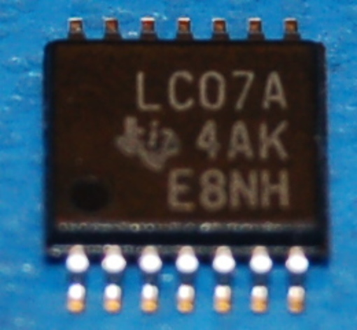 7407 - SN74LVC07APWR Hex Buffer/Driver with Open-Drain Outputs