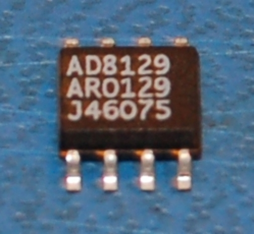 AD8129AR Differential Receiver Amplifier, 200 MHz