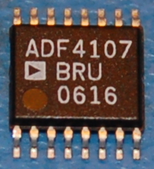 ADF4107 PLL Frequency Synthesizer, 7GHz