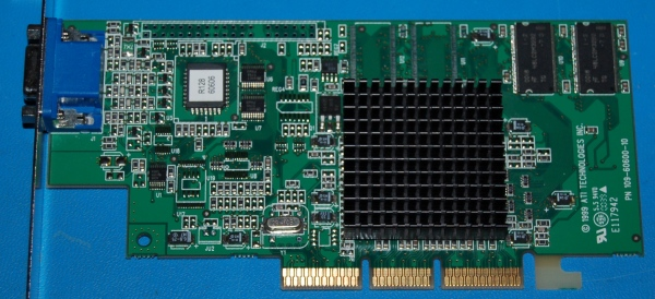 ATI Rage 128 AGP Video Card