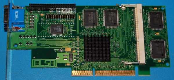 ELSA GLoria Synergy+ Compaq AGP 3D CAD Video Card