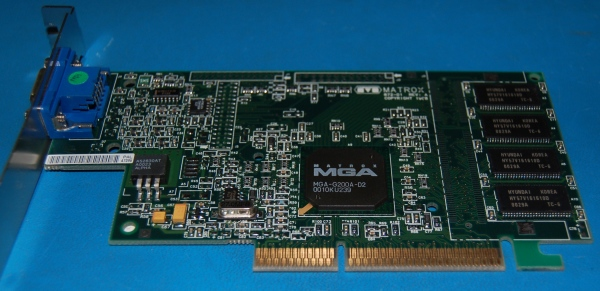 Matrox G200 AGP Graphics Card