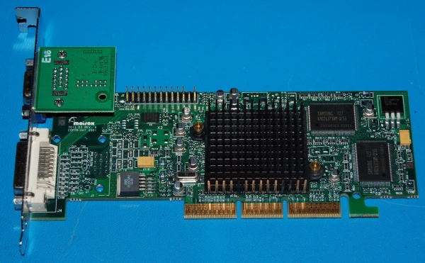 Matrox G550 AGP Dual Head Video Card