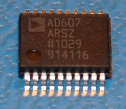 "AD607ARSZ ""Receiver-on-a-Chip"" Mixer, 3V Receiver IF Subsystem"