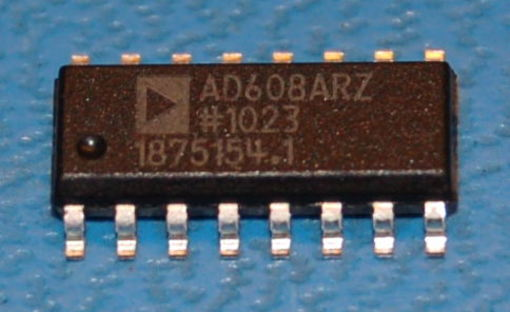 AD608ARZ Mixer/Limiter/RSSI, 3V Receiver IF Subsystem