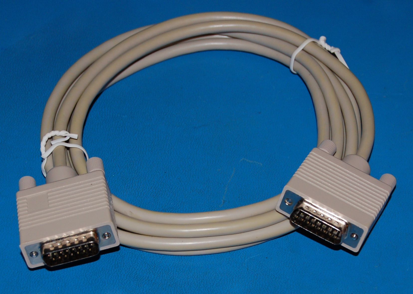 DB-15 Cable, M/M, 6' (1.8m)