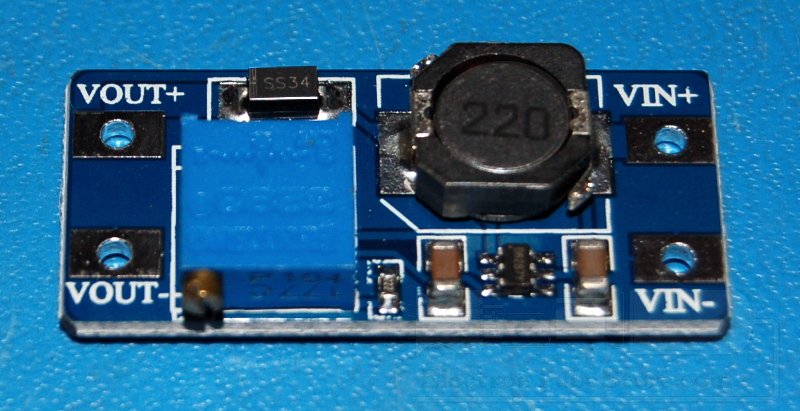 MT3608 Step Up DC-DC Voltage Converter, 2~24V to 2~28V, 2A