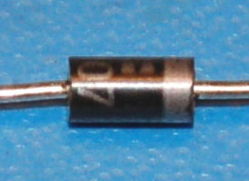 1N4007 General-Purpose Diode, 1kV, 1A, DO-41 (10 Pk)
