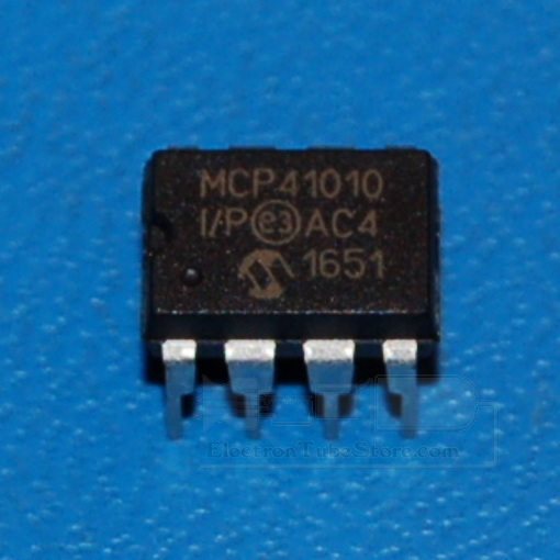 MCP41010 10kΩ Digital Potentiometer, DIP-8