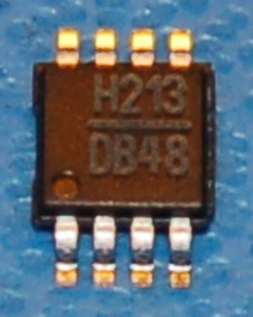 HMC213MS8 GaAs MMIC Double Balanced Mixer, 1.5 - 4.5GHz