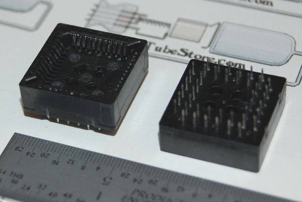 "IC Socket, PLCC-44 x Through-Hole, Style ""B"""