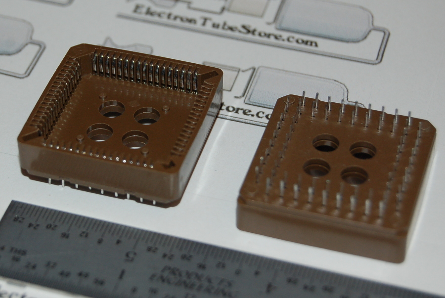 "IC Socket, PLCC-68 x Through-Hole, Style ""A"""