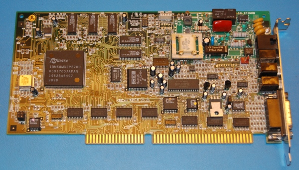 IBM Mwave Audio / Game / Modem ISA Adapter