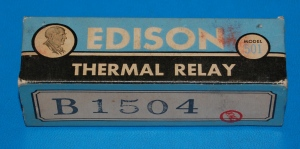 Edison Thermal Relay Model 501