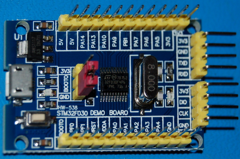 STM32F030F4 ARM CORTEX-M0 Minimum System Board