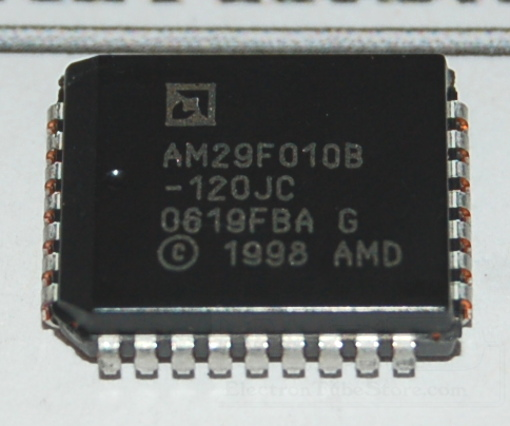 AM29F010B-120JC Flash Memory, 1Mb (128K x 8), PLCC-32
