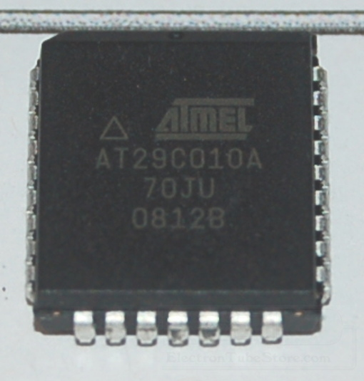 AT29C010A-70JU Flash Memory, 1Mb (128K x 8), PLCC-32