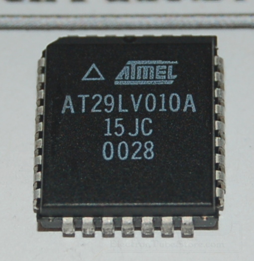 AT29LV010A Flash Memory, 2Mb (256K x 8), PLCC-32