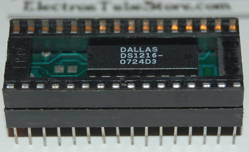 Dallas DS1216 SmartWatch Real Time Clock RTC RAM, DIP-28