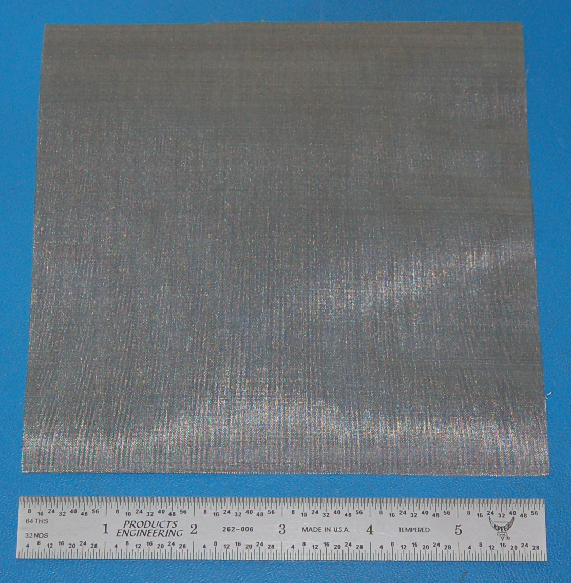 "Stainless Steel 100-Mesh (149 micron), .0045"" Wire, .0055"" Wd, 6x6"""