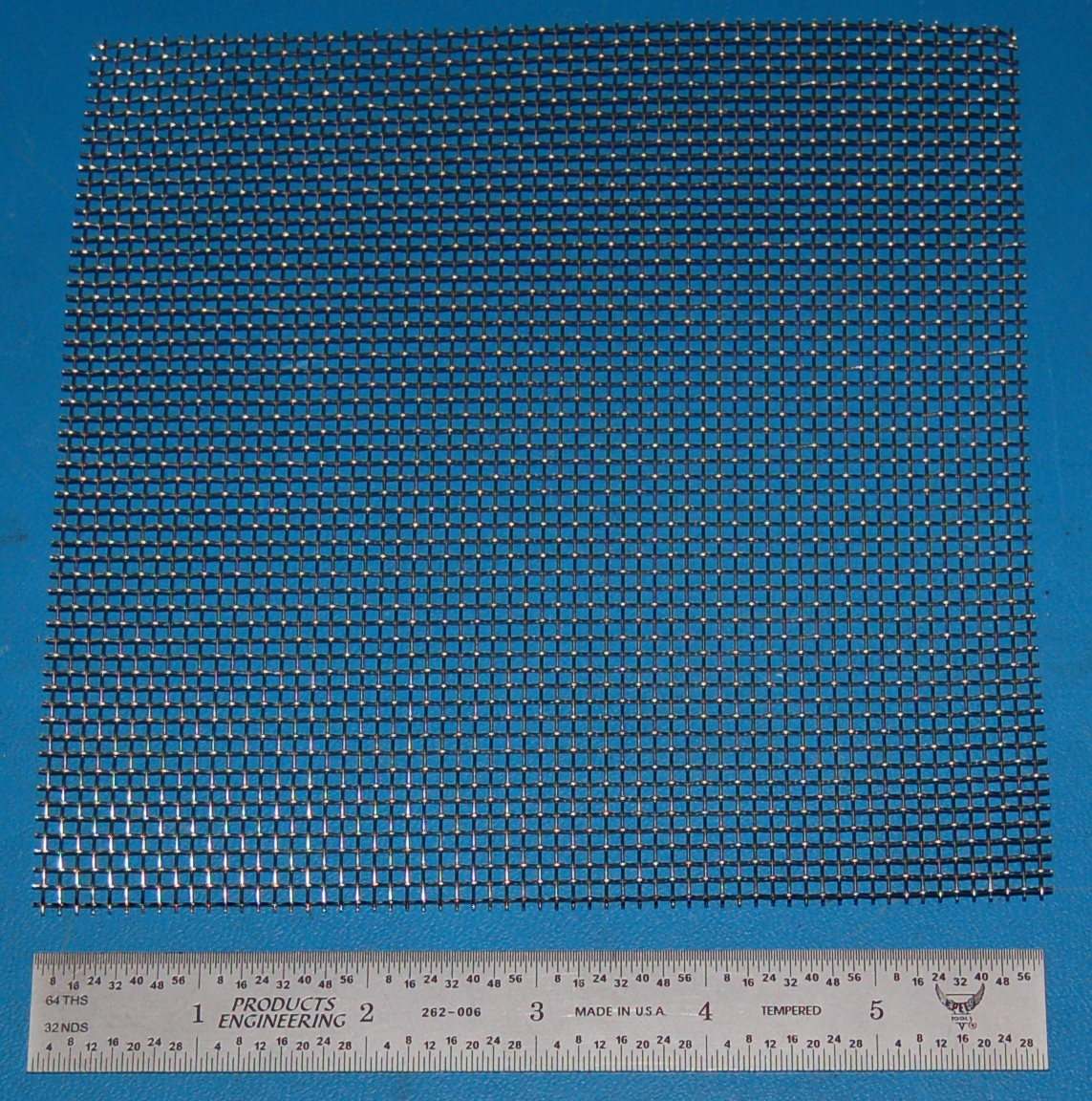 "Stainless Steel 10-Mesh (2000 micron), .023"" Wire, .077"" Wd, 6x6"""