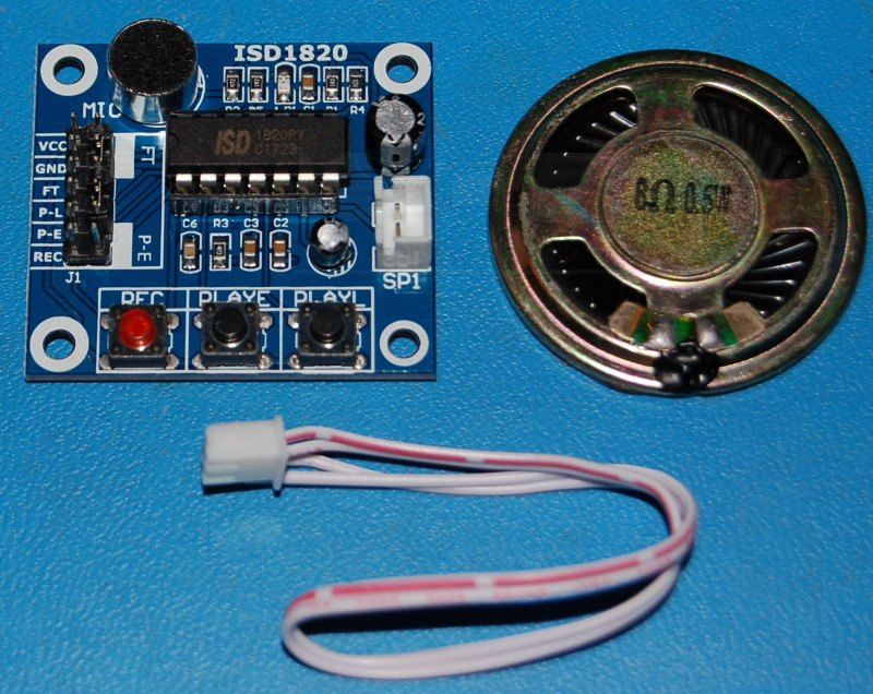 ISD1820 Voice Sound Audio Record & Playback Module