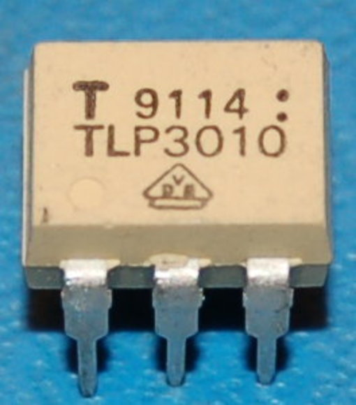 Toshiba TLP3010 Optocoupler GaAs IRED & Photo-Triac, DIP-6
