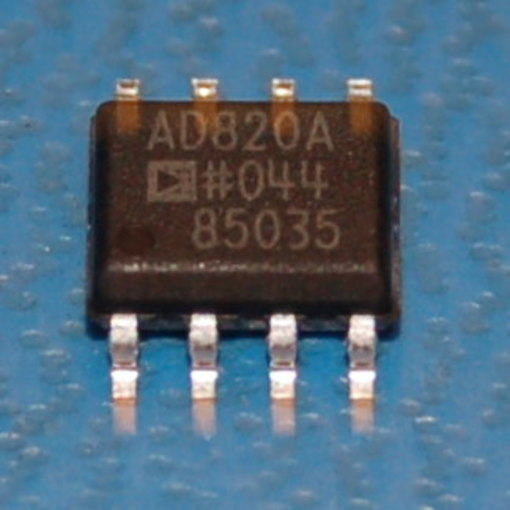 AD820ARZ Rail-to-Rail Low-Power FET Input Op Amp