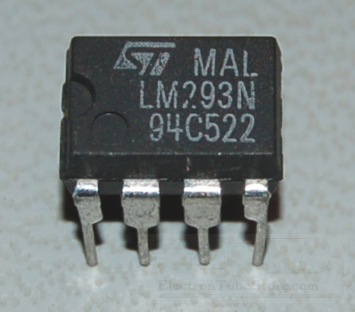 LM293N Dual Operational Amplifier, DIP-8
