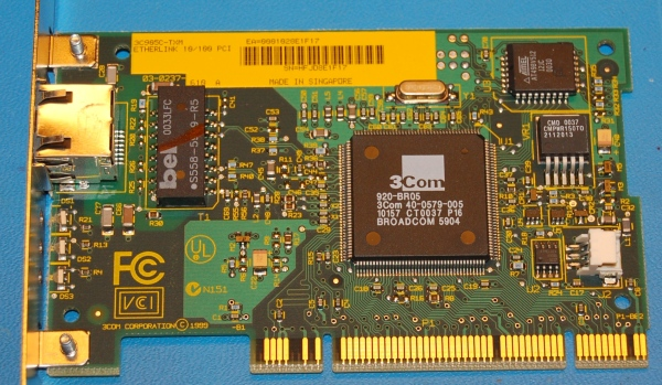 3Com 3c905C-TXM PCI Network Adapter