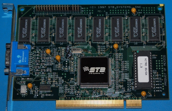 STB Nitro 3D GX PCI Video Card