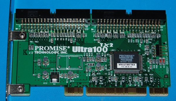 Promise Ultra100TX2 PCI IDE Card