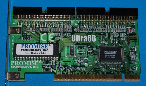 Promise Ultra66 PCI IDE Card