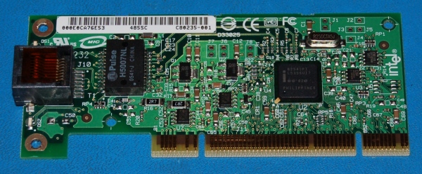 Intel PRO/1000 GT PCI Network Adapter