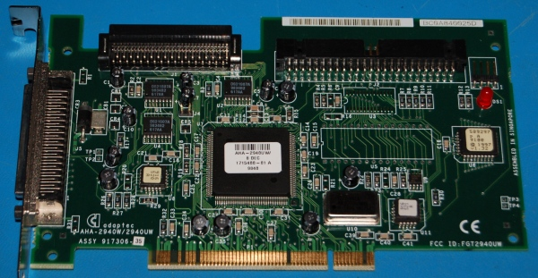 Adaptec AHA-2940UW PCI SCSI Adapter