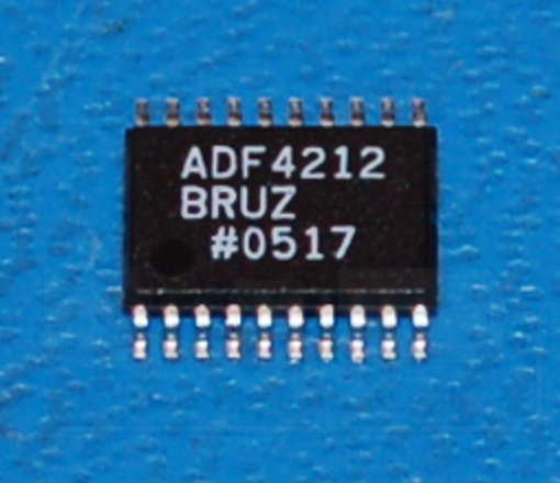 ADF4212 Dual RF/IF PLL Frequency Synthesizer, 2.7GHz