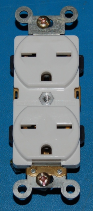 Power Cord Duplex Receptacle, NEMA6-15