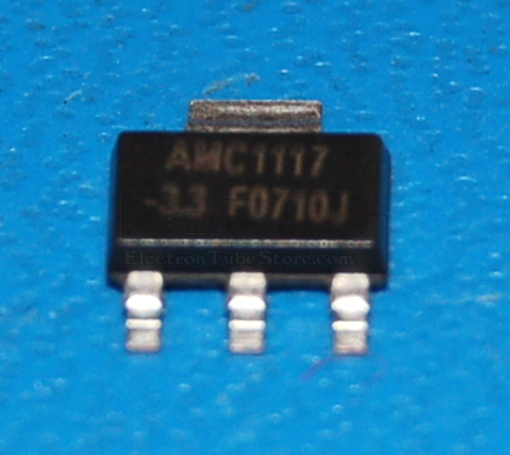 AMC1117-3.3 Low-Dropout Positive Voltage Regulator, 3.3V, 1A, SOT-223