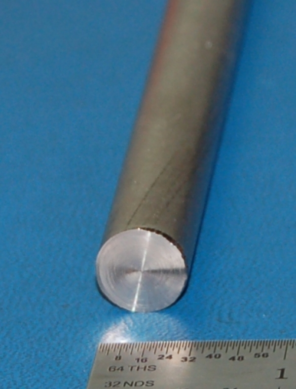 "Nickel Rod, .500"" (12.7mm) Dia. x 3"""