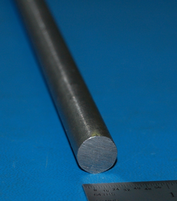 "Tool Steel Grade O1 Rod, .500"" (12.7mm) x 6"""