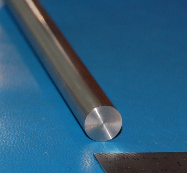 "Stainless Steel 304/304L Rod, .500"" (12.7mm) Dia. x 6"""