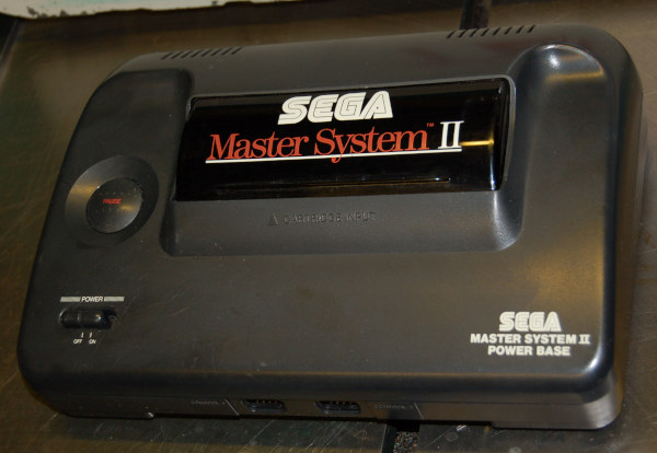 SEGA Master System II, Model 3006-18A, Console Only