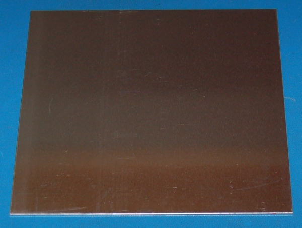 "Aluminium 3003 Sheet, .050"" (1.3mm), 6x6"""