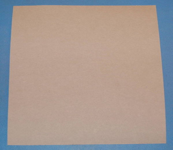 "Electrical-Grade Hard Fiber (Fishpaper), .010"" (.25mm), 6x6"""