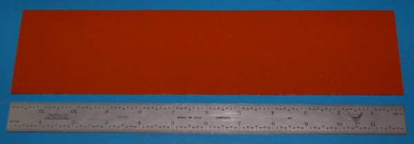"Garolite Sheet, Grade XX, .063"" (1.6mm), 12x3"" (Tan)"